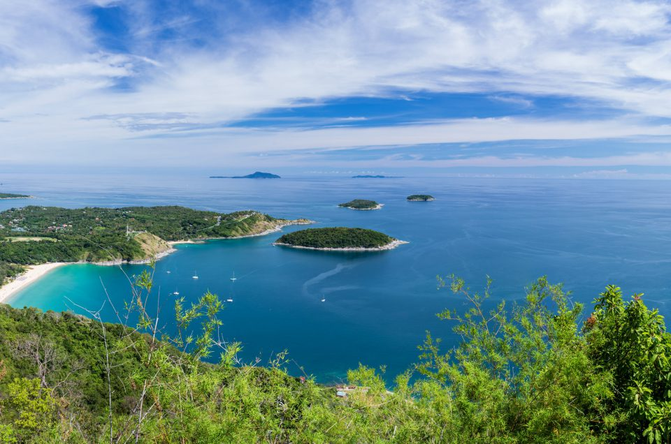 Black Rock viewpoint in Phuket