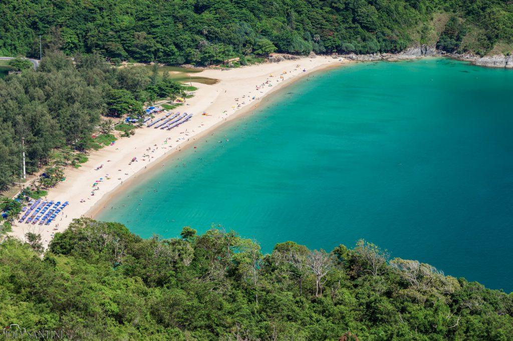 Nai Harn beach.