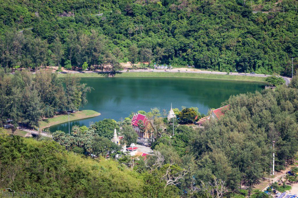 Nai Harn lake from above.