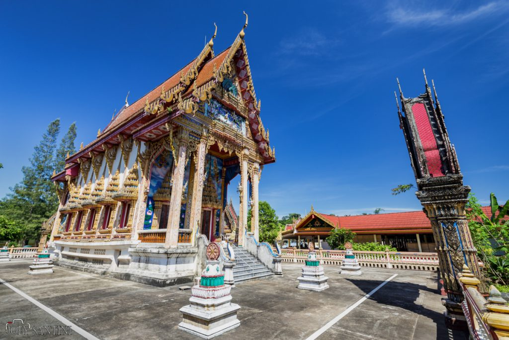 Na Klang temple is known by local people.