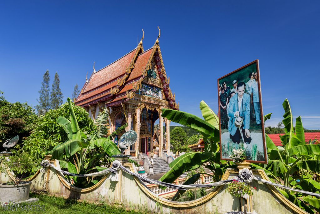 Temple & King of Thailand.