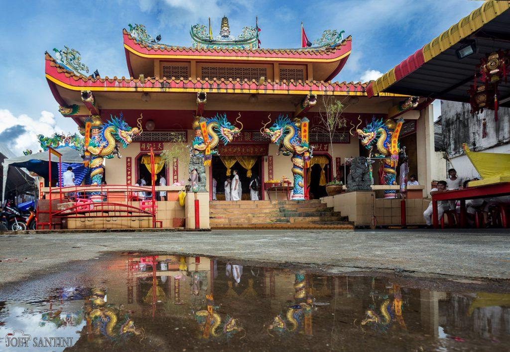 Decorated Chao Pho Kuan U Shrine