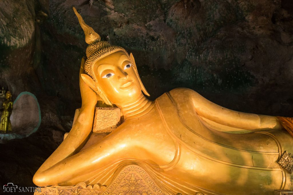 The golden Buddha Cave