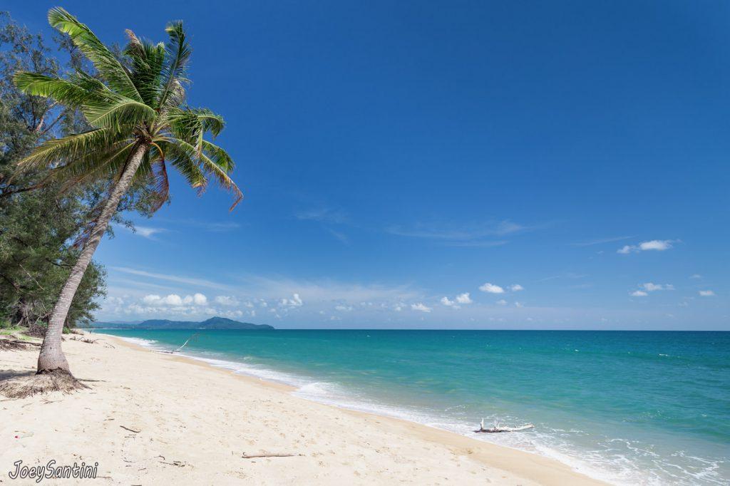 Remote Phuket beach