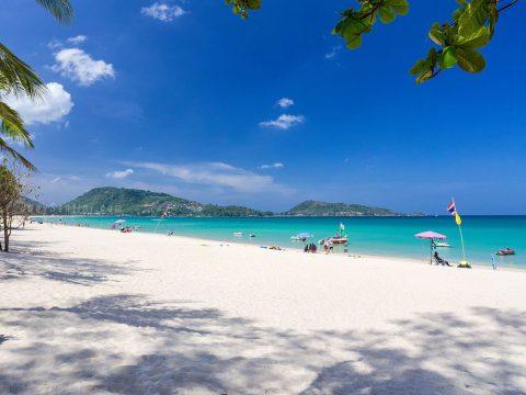 Patong beach – a famous Phuket beach