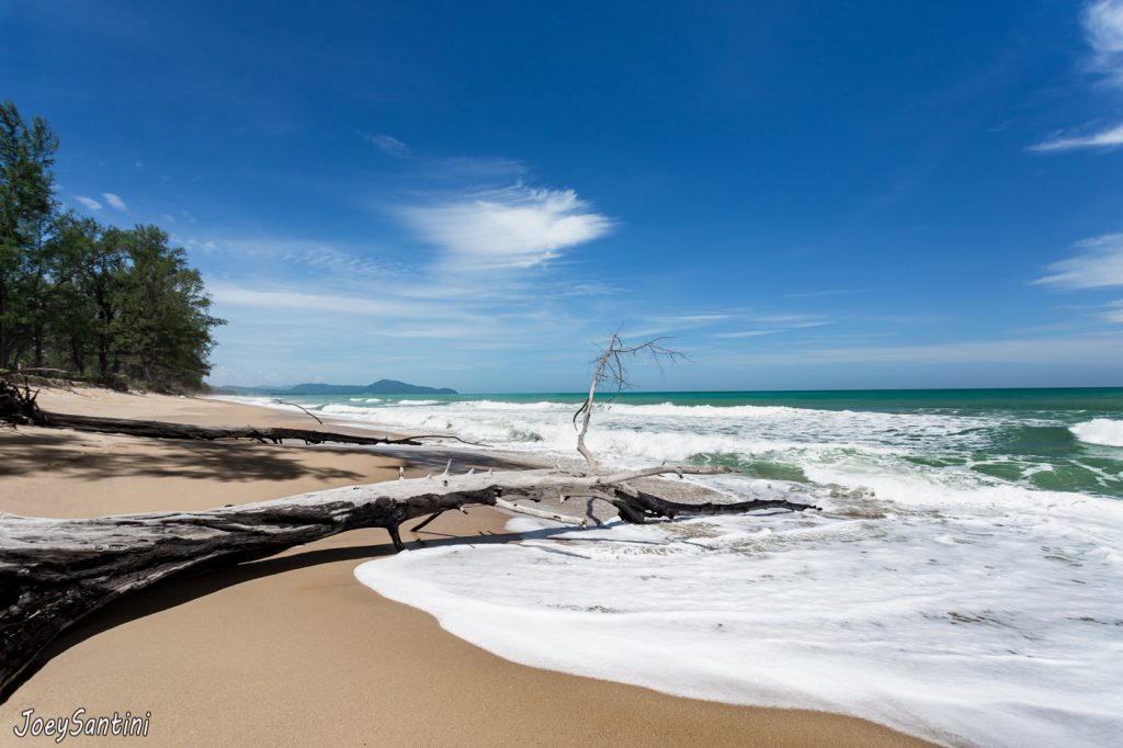 Rough sea in Phuket