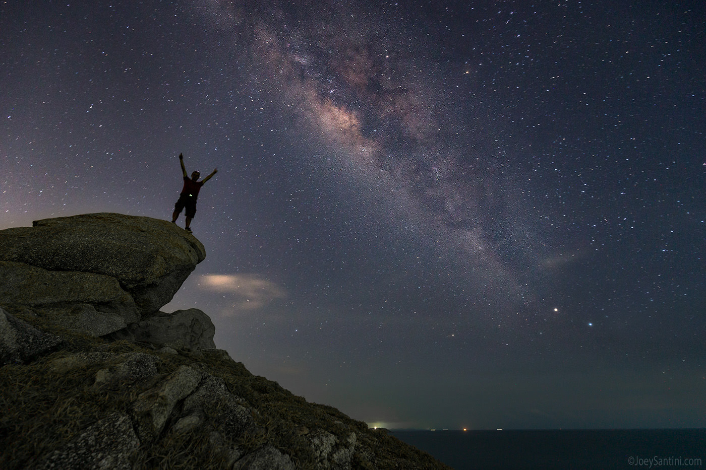 Milky Way above Krating Cape.