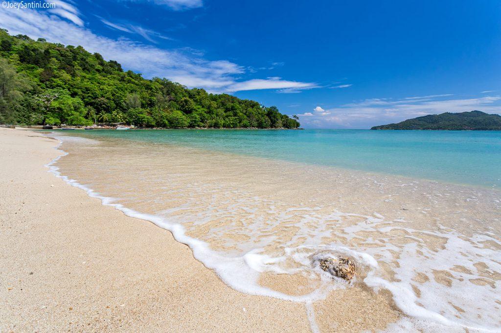 Tri Trang beach of Phuket.