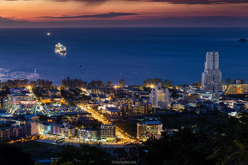 The best viewpoint in Patong.