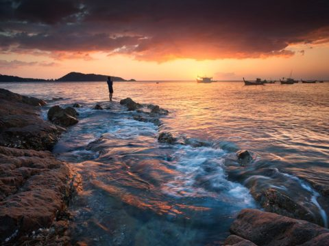Seascape of Phuket